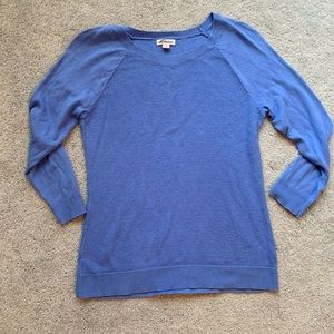 Merona Blue Sweater large